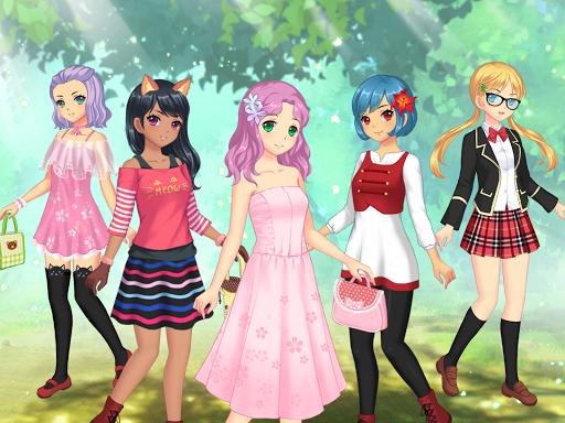 Anime Dress Up – Games For Girls v1.1.9 screenshots 11