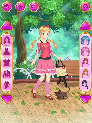Anime Dress Up – Games For Girls v1.1.9 screenshots 12