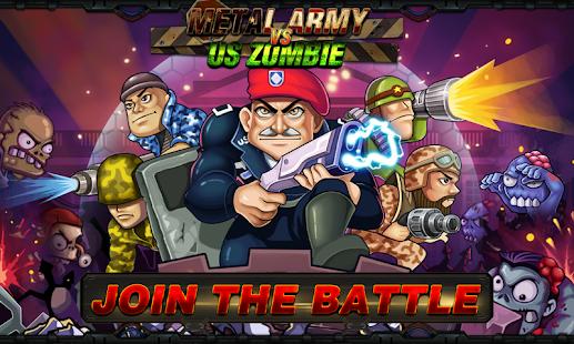 Army vs Zombies Tower Defense Game v1.1.0 screenshots 1