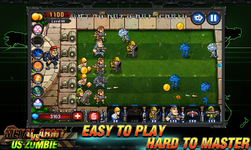 Army vs Zombies Tower Defense Game v1.1.0 screenshots 2