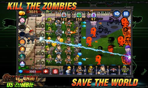 Army vs Zombies Tower Defense Game v1.1.0 screenshots 3