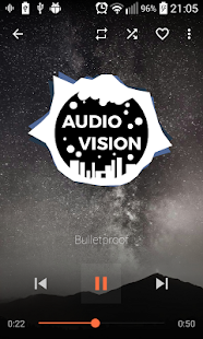 AudioVision Music Player v screenshots 1