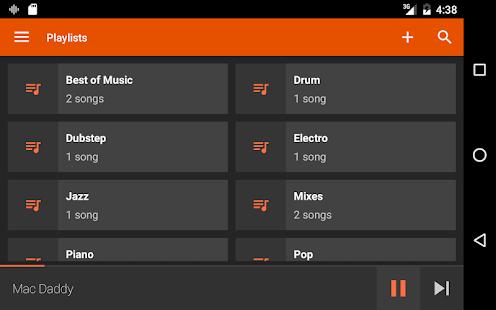 AudioVision Music Player v screenshots 10