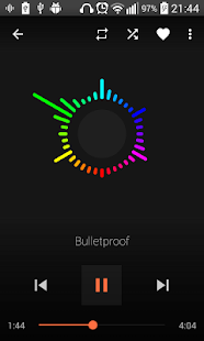 AudioVision Music Player v screenshots 2