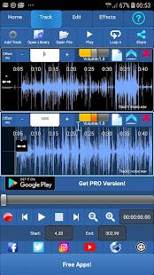Audiosdroid Audio Studio DAW v2.0.6 screenshots 1