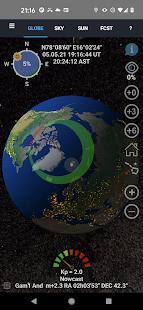 Aurora Forecast 3D v7.5 screenshots 1
