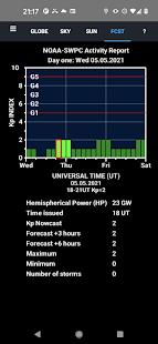Aurora Forecast 3D v7.5 screenshots 4