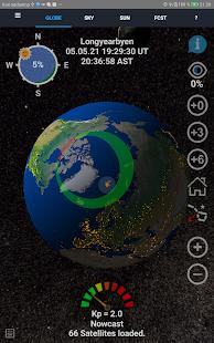 Aurora Forecast 3D v7.5 screenshots 5