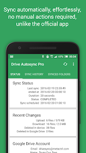 Autosync for Google Drive v4.5.11 screenshots 2