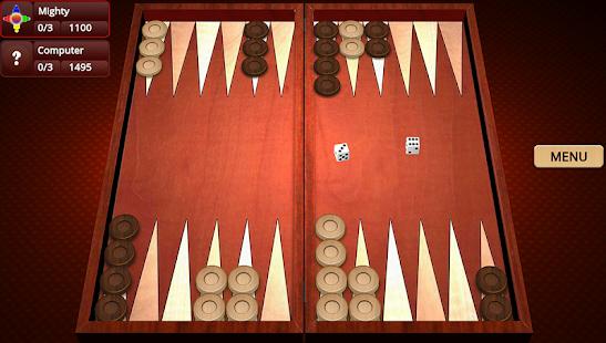 Backgammon Mighty v2.35 screenshots 1
