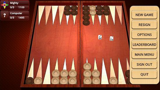 Backgammon Mighty v2.35 screenshots 2