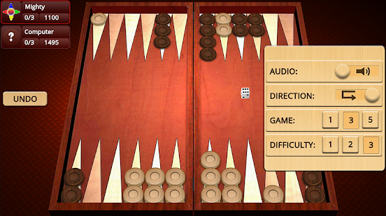 Backgammon Mighty v2.35 screenshots 3