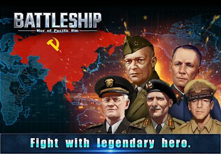 Battleship Legion War of Pacific Rim v1.6.5 screenshots 1