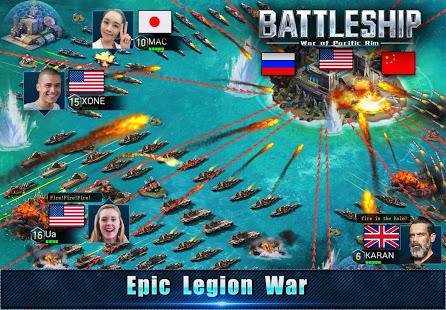Battleship Legion War of Pacific Rim v1.6.5 screenshots 3