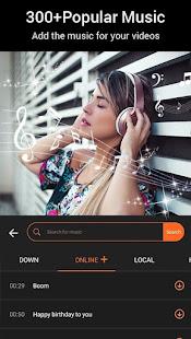 Beauty Video – Music Video Editor amp Slide Show v3.54 screenshots 4