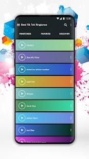 Best Music Ringtones for Tik Tok v1.1 screenshots 5