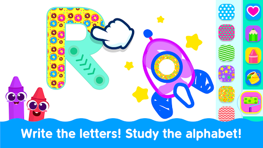 Bini Toddler Drawing Apps Coloring Games for Kids v screenshots 12