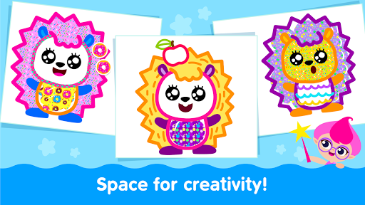 Bini Toddler Drawing Apps Coloring Games for Kids v screenshots 16