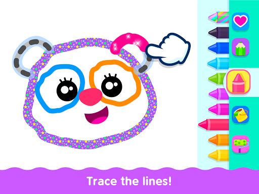 Bini Toddler Drawing Apps Coloring Games for Kids v screenshots 18