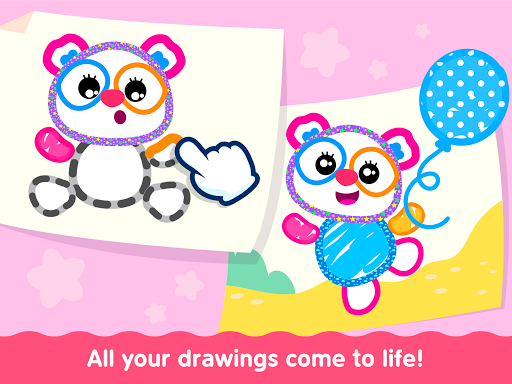 Bini Toddler Drawing Apps Coloring Games for Kids v screenshots 19