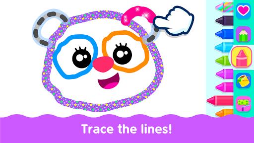 Bini Toddler Drawing Apps Coloring Games for Kids v screenshots 2