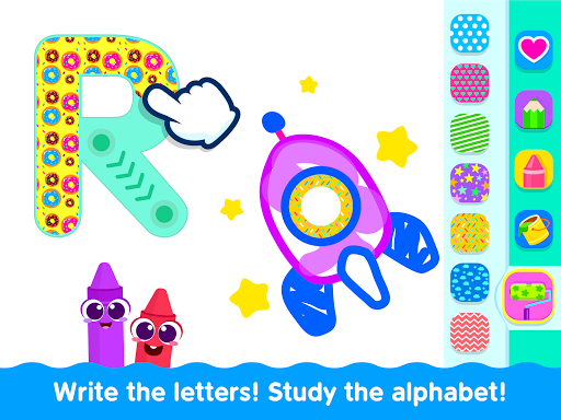Bini Toddler Drawing Apps Coloring Games for Kids v screenshots 20