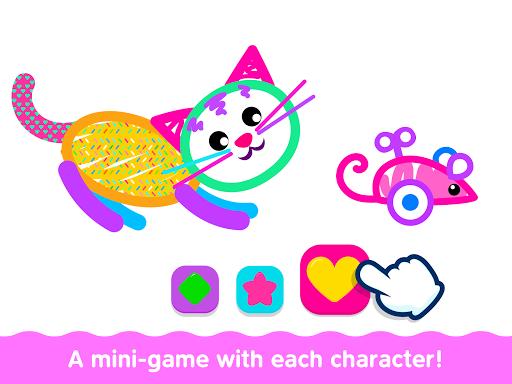 Bini Toddler Drawing Apps Coloring Games for Kids v screenshots 22