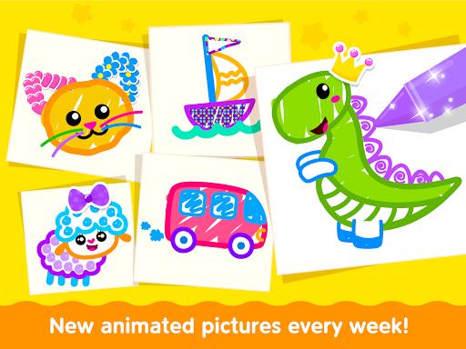 Bini Toddler Drawing Apps Coloring Games for Kids v screenshots 23