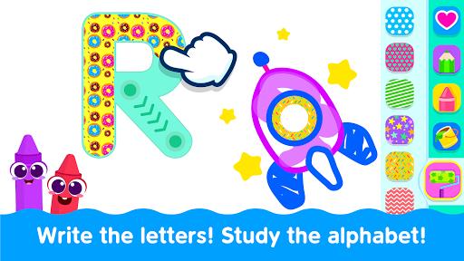 Bini Toddler Drawing Apps Coloring Games for Kids v screenshots 4