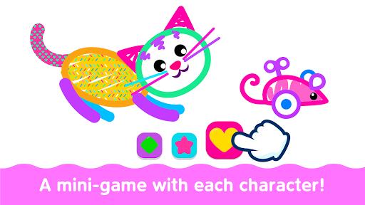Bini Toddler Drawing Apps Coloring Games for Kids v screenshots 6