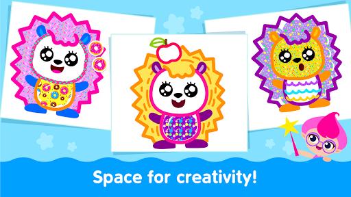 Bini Toddler Drawing Apps Coloring Games for Kids v screenshots 8