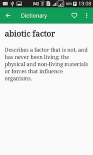 Biology Dictionary Offline v1.1 screenshots 3