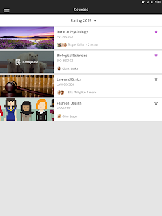 Blackboard v6.5.0 screenshots 5