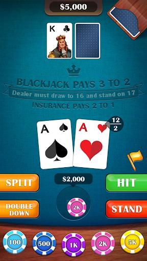 Blackjack 21 – casino card game v2.8 screenshots 2