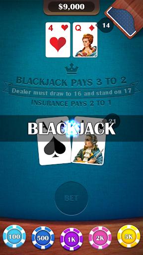 Blackjack 21 – casino card game v2.8 screenshots 9