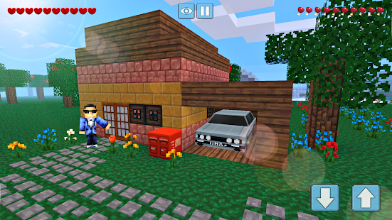 Block Craft World 3D Mini Crafting and building v1.4.3 screenshots 1