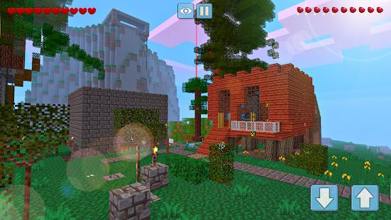 Block Craft World 3D Mini Crafting and building v1.4.3 screenshots 2