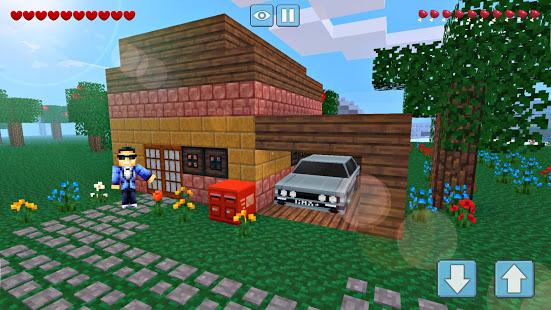 Block Craft World 3D Mini Crafting and building v1.4.3 screenshots 6