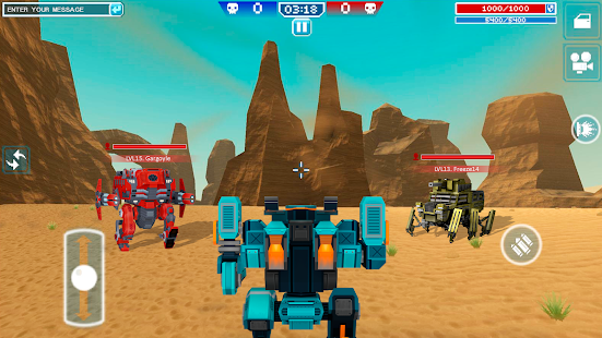 Blocky Cars – tank wars amp shooting games v7.6.17 screenshots 18