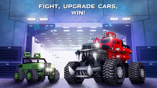 Blocky Cars – tank wars amp shooting games v7.6.17 screenshots 5