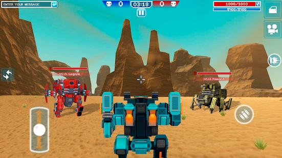 Blocky Cars – tank wars amp shooting games v7.6.17 screenshots 6