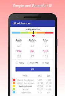 Blood Pressure Diary v0.1.17 screenshots 1