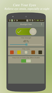 Bluelight Filter – Eye Care v1.8.90 screenshots 2