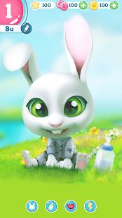 Bu the virtual Bunny – Cute pet care game v2.8 screenshots 1