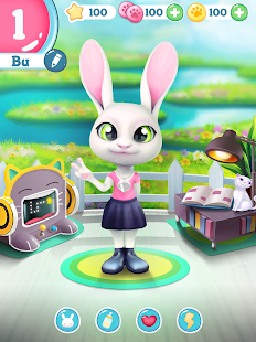 Bu the virtual Bunny – Cute pet care game v2.8 screenshots 13
