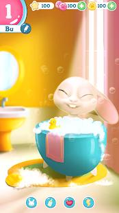 Bu the virtual Bunny – Cute pet care game v2.8 screenshots 2