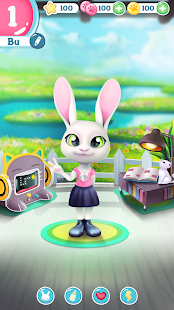 Bu the virtual Bunny – Cute pet care game v2.8 screenshots 5