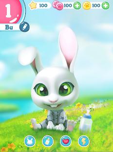 Bu the virtual Bunny – Cute pet care game v2.8 screenshots 9
