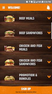 Burger King Arabia v4.7.2 screenshots 1