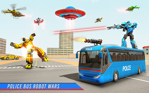 Bus Robot Car Transform War Spaceship Robot game v5.5 screenshots 2